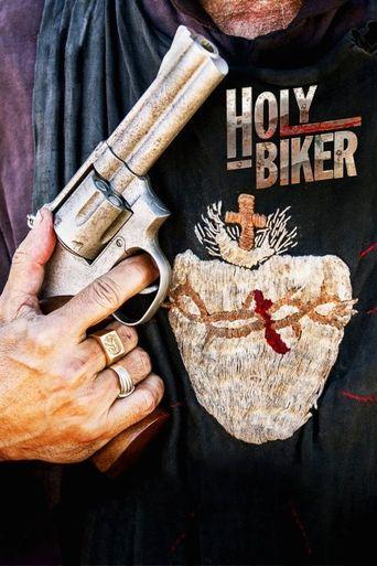 Holy Biker Poster