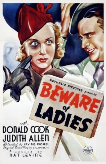 Beware Of Ladies Poster