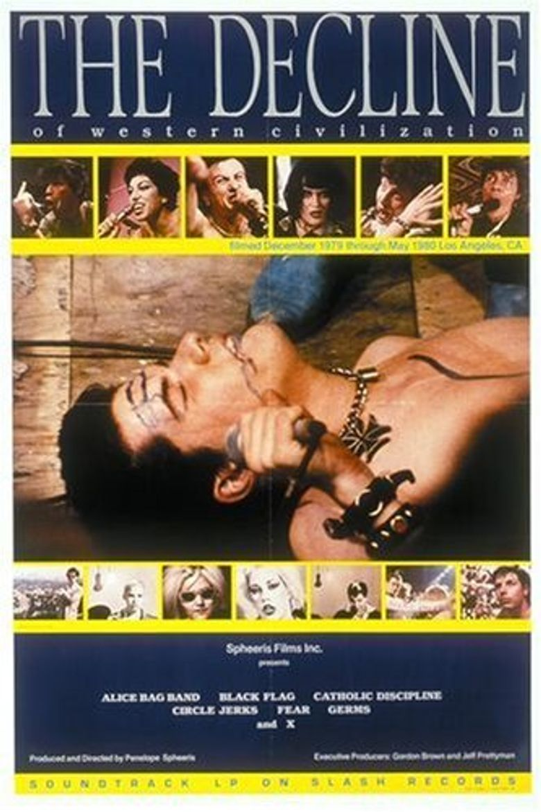 The Decline of Western Civilization Poster