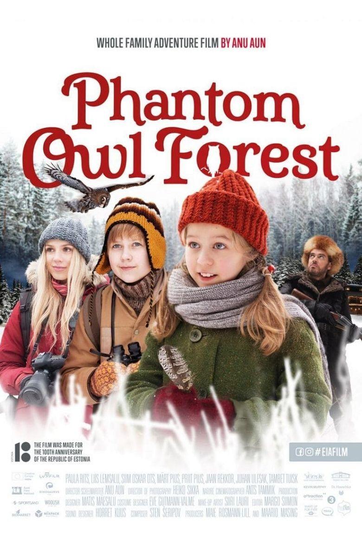 Phantom Owl Forest Poster