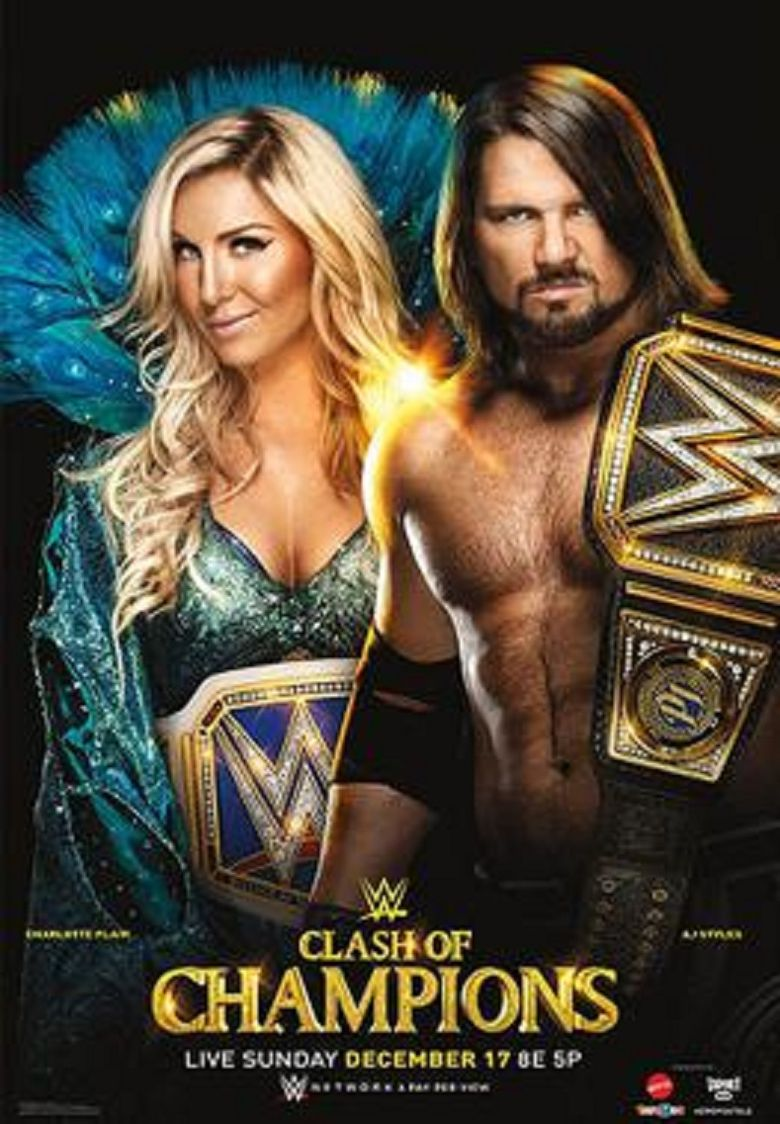 WWE Clash of Champions 2017 Poster