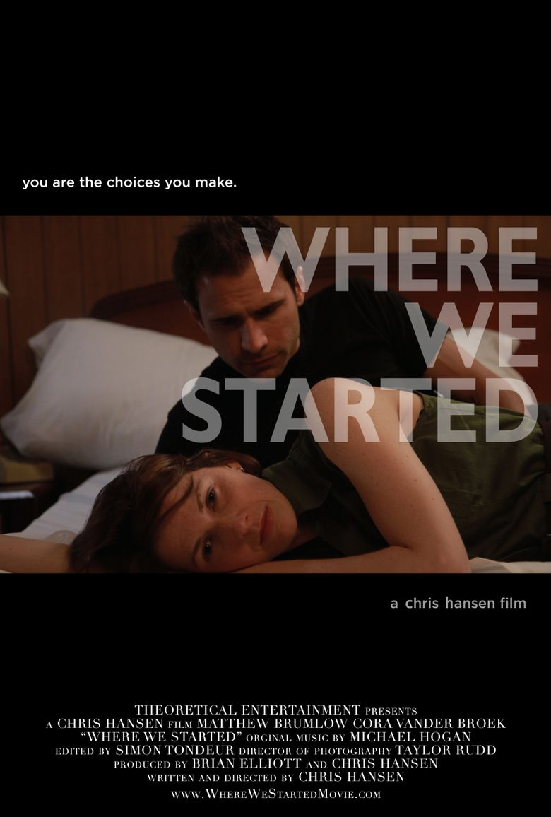 Where We Started Poster