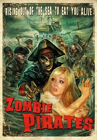 Zombie Pirates Poster