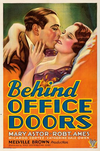 Behind Office Doors Poster