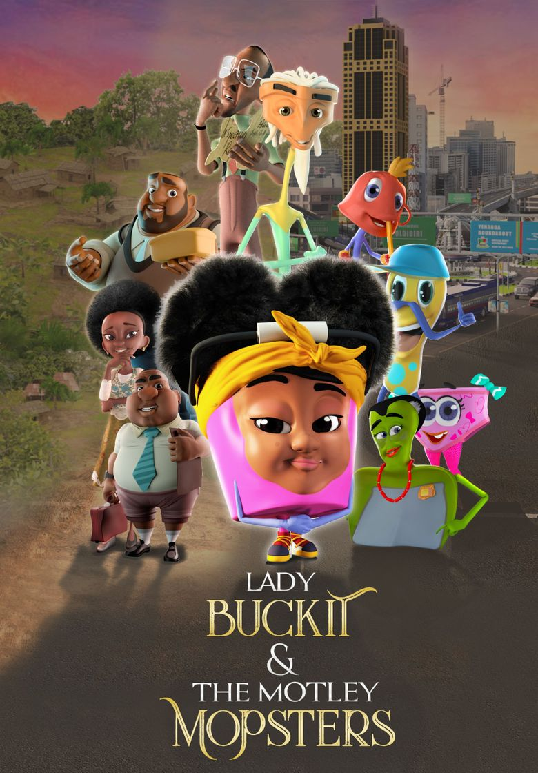 Lady Buckit & the Motley Mopsters Poster