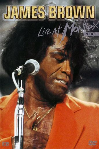 James Brown: Live at Montreux Poster