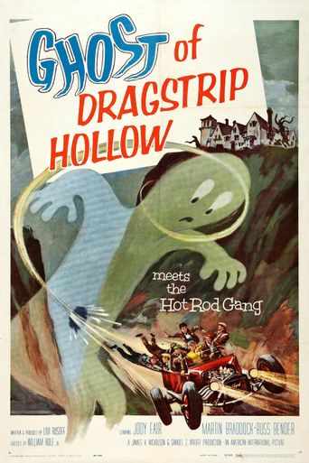 Ghost of Dragstrip Hollow Poster