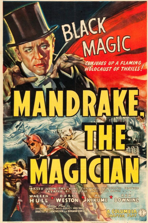 Mandrake the Magician Poster