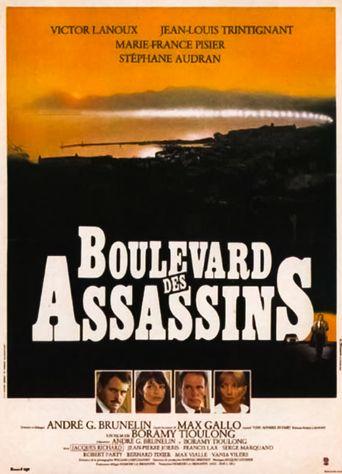 Boulevard des assassins Poster
