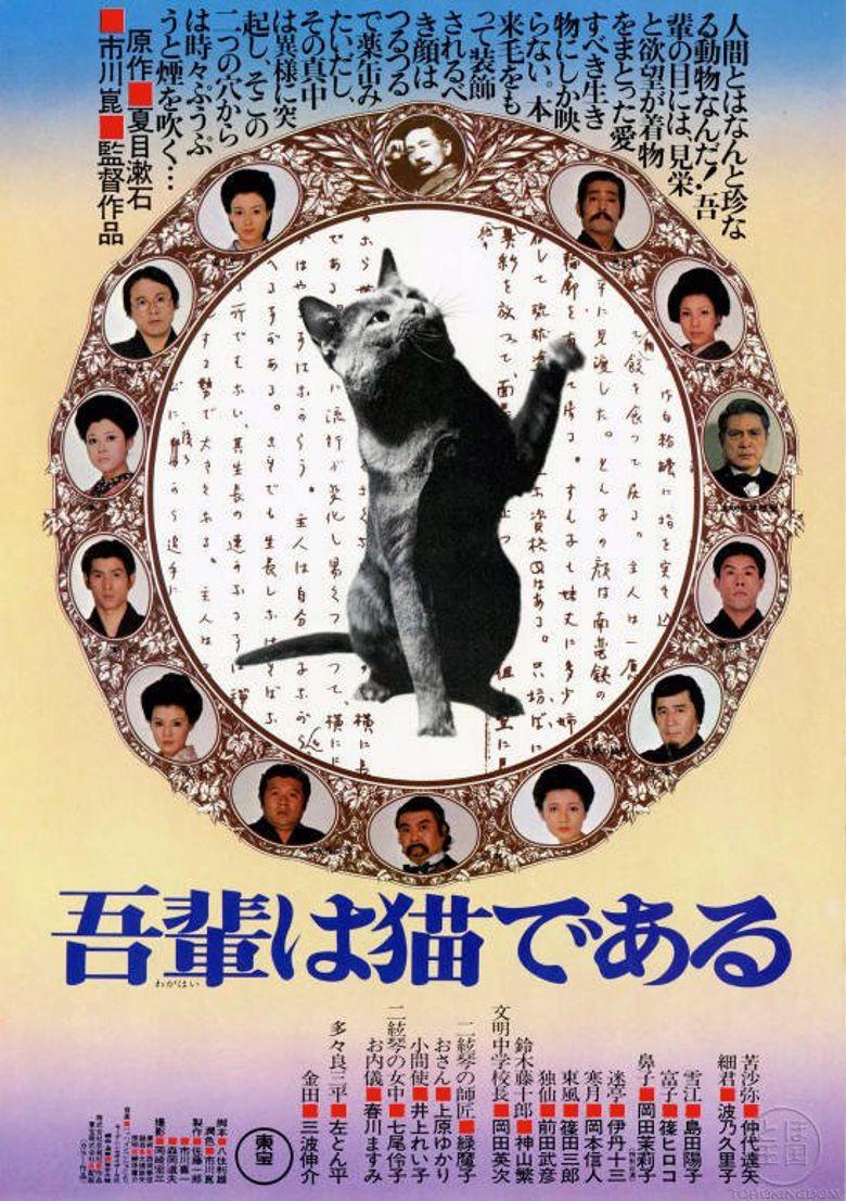 I Am a Cat Poster