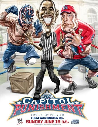 WWE Capitol Punishment 2011 Poster