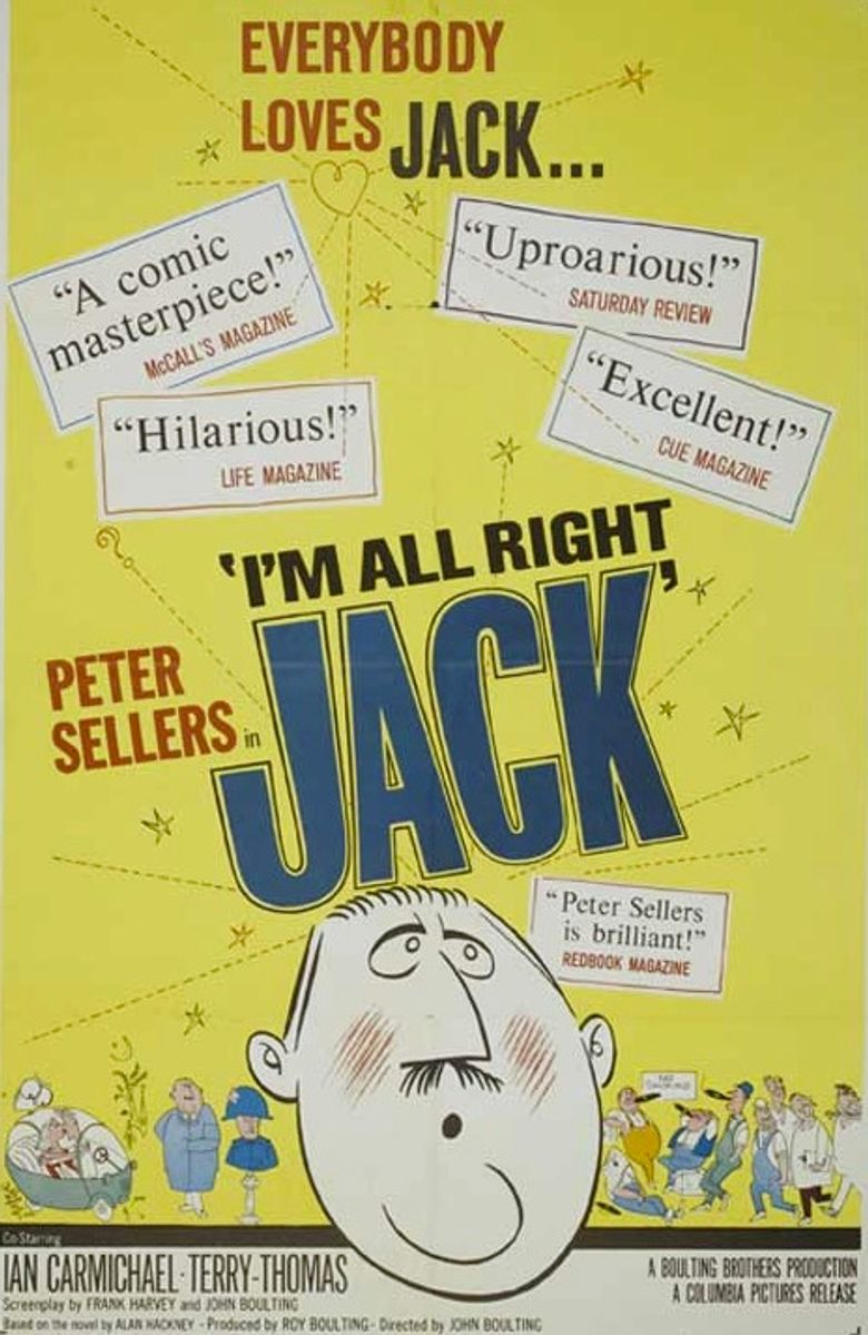 I'm All Right Jack Poster