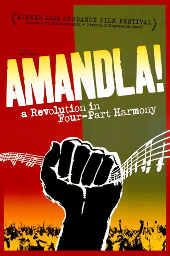 Amandla! A Revolution in Four-Part Harmony Poster