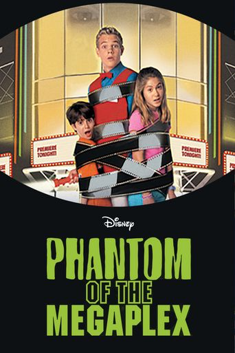 Phantom of the Megaplex Poster