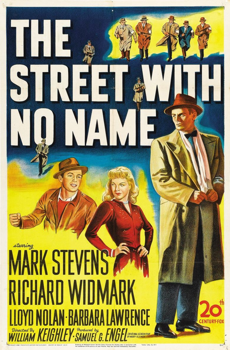 The Street with No Name Poster