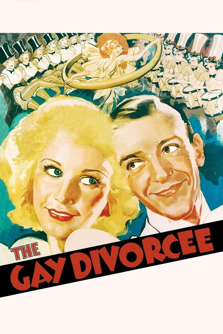 The Gay Divorcee Poster