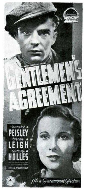 Gentlemen's Agreement Poster