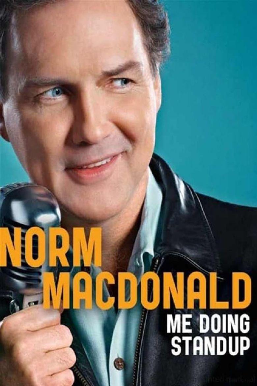 Norm MacDonald: Me Doing Standup Poster