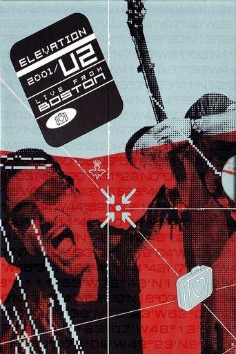 U2: Elevation 2001 Poster