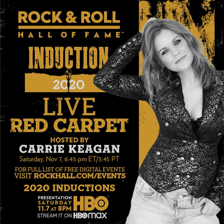 The 2020 Rock & Roll Hall of Fame Induction Ceremony Virtual Red Carpet Live Poster