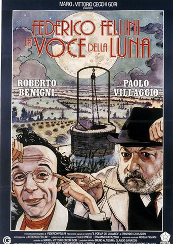 The Voice of the Moon Poster