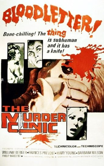 The Murder Clinic Poster