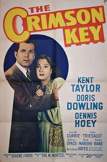 The Crimson Key Poster