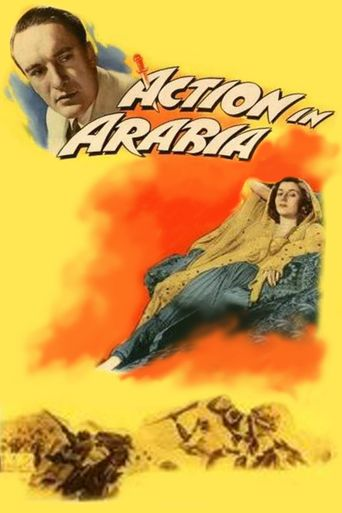 Action in Arabia Poster