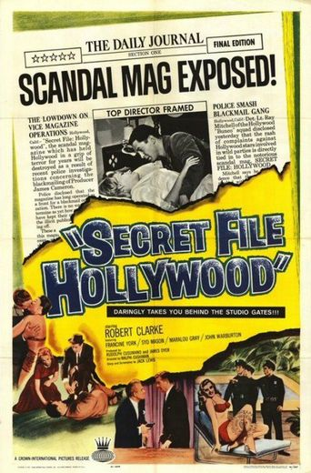 Secret File: Hollywood Poster
