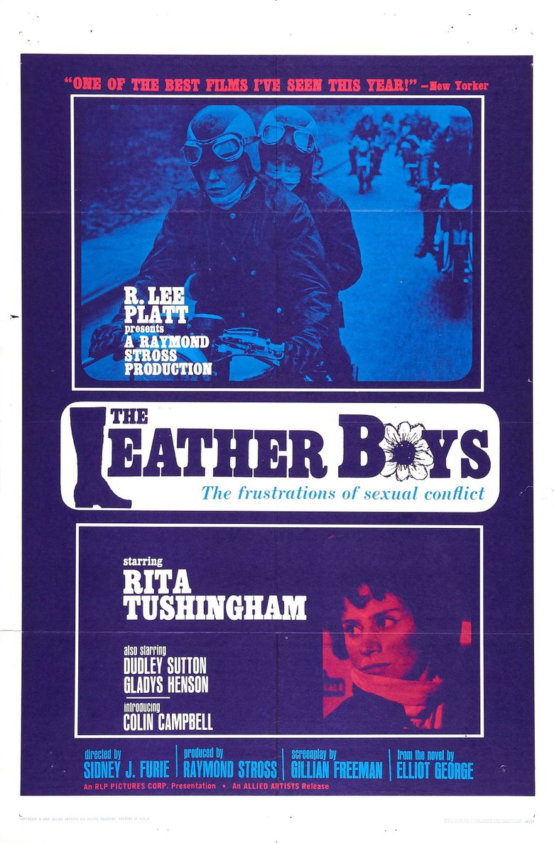 The Leather Boys Poster