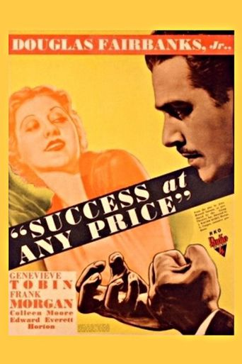 Success At Any Price Poster