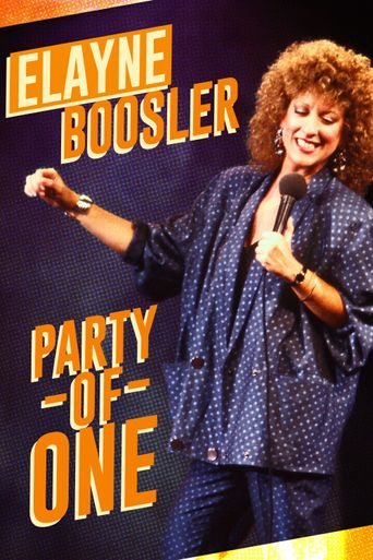 Elayne Boosler: Party of One Poster