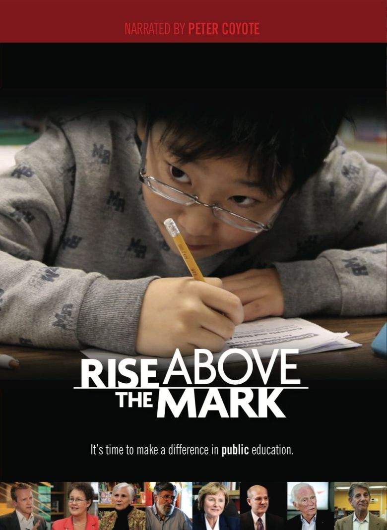 Rise Above the Mark Poster
