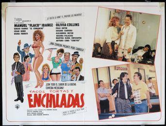 Tacos, tortas y enchiladas Poster