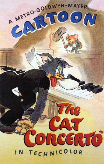 The Cat Concerto Poster