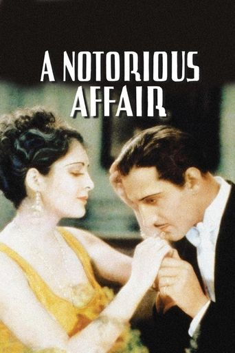 A Notorious Affair Poster