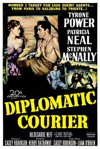 Diplomatic Courier Poster