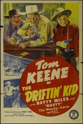 The Driftin' Kid Poster