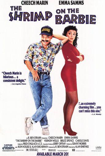 Shrimp on the Barbie Poster