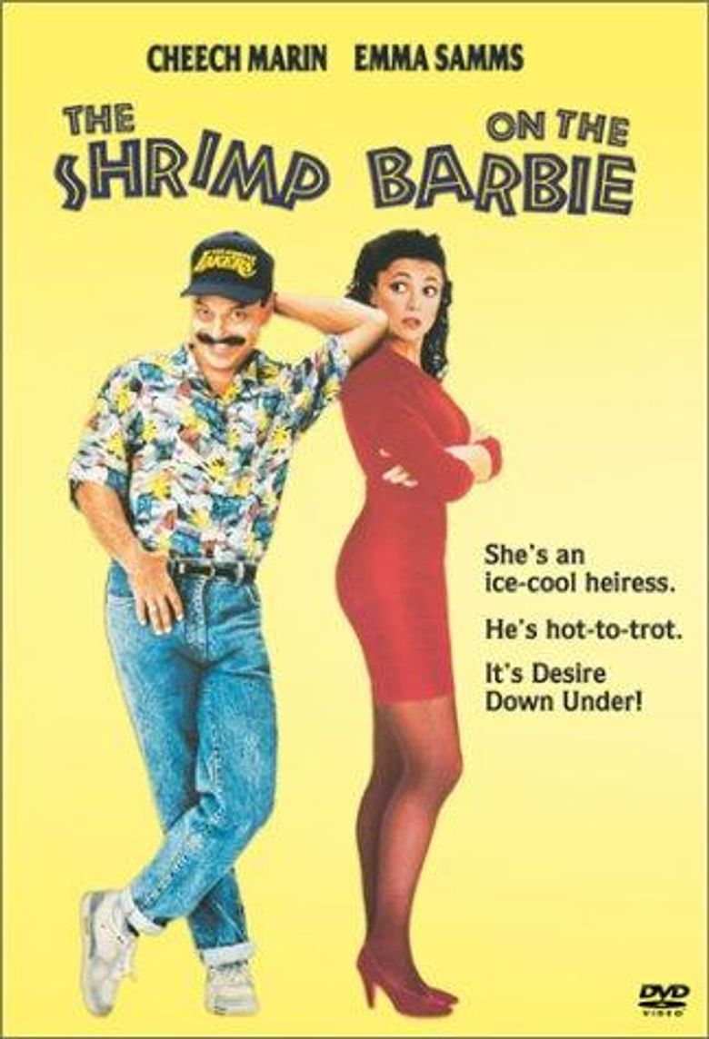Shrimp on the Barbie Poster