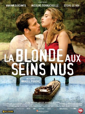 The Blonde with Bare Breasts Poster