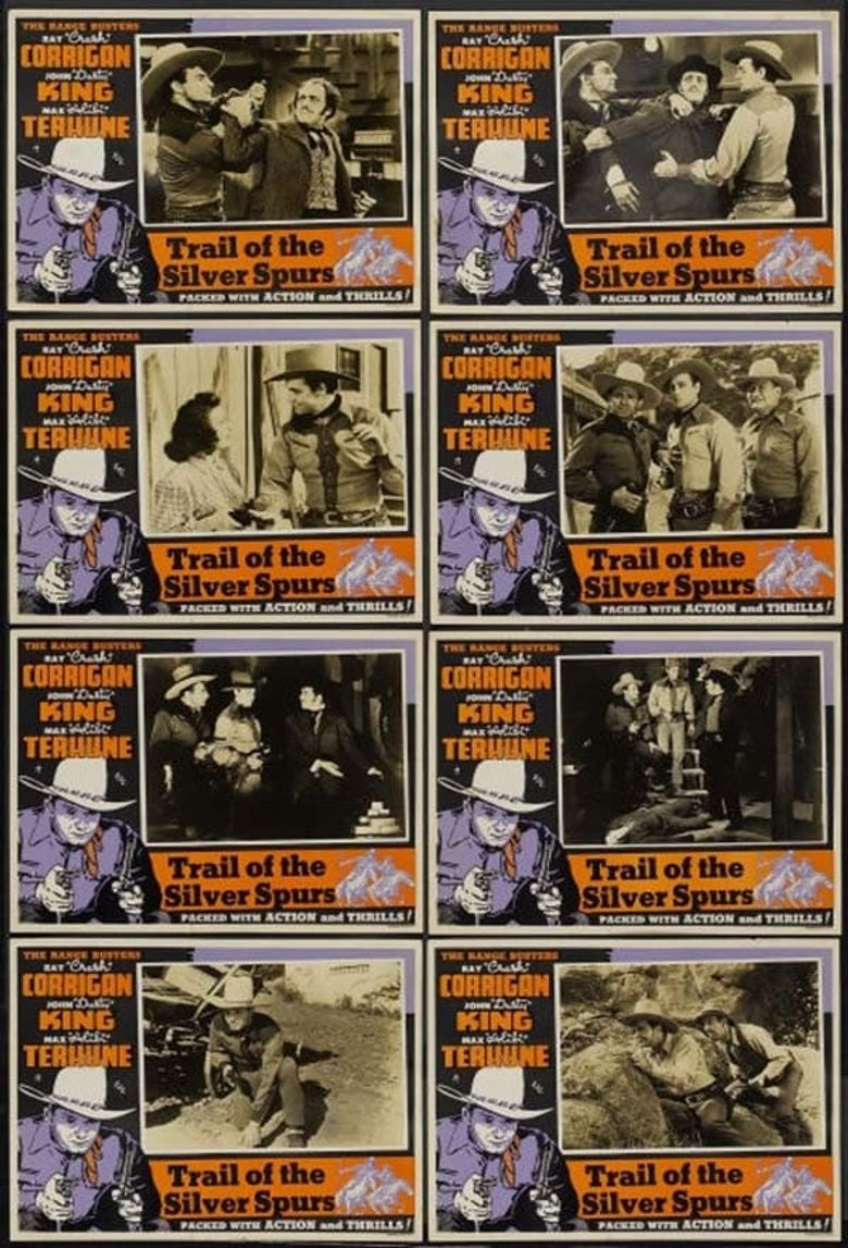 The Trail of the Silver Spurs Poster
