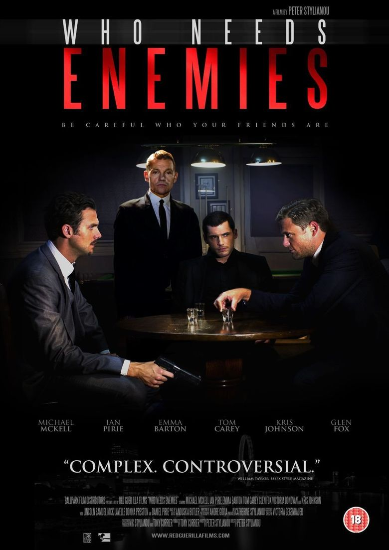 Who Needs Enemies Poster