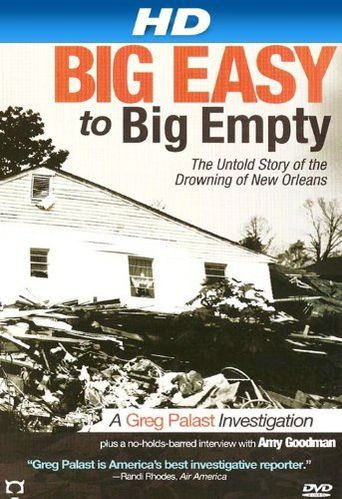 Big Easy to Big Empty: The Untold Story of the Drowning of New Orleans Poster