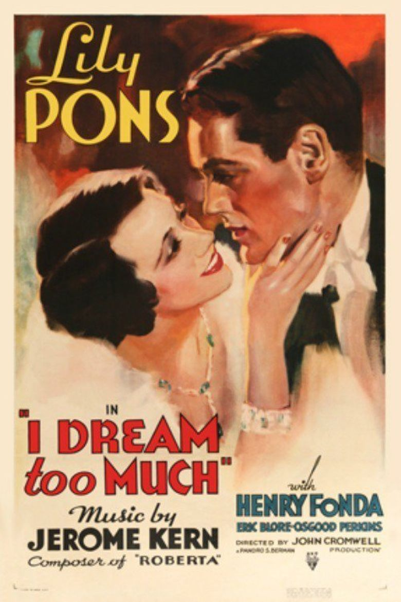 I Dream Too Much Poster