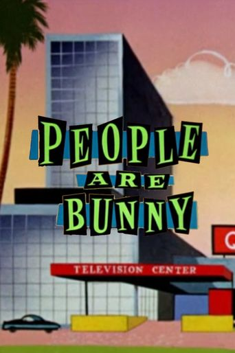 People Are Bunny Poster