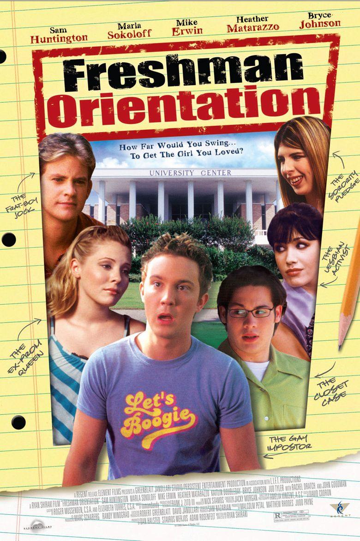 Freshman Orientation Poster