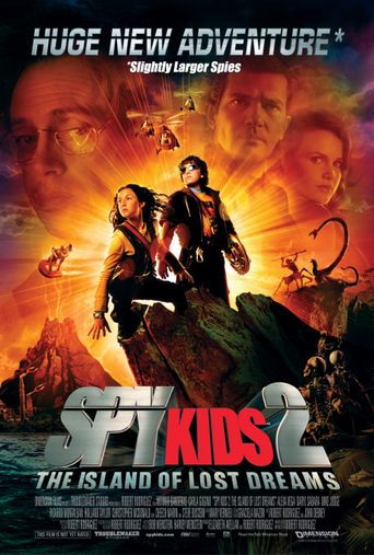 Watch Spy Kids 2: The Island of Lost Dreams