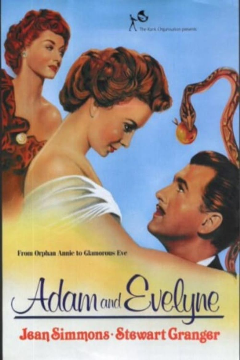 Adam and Evelyne Poster
