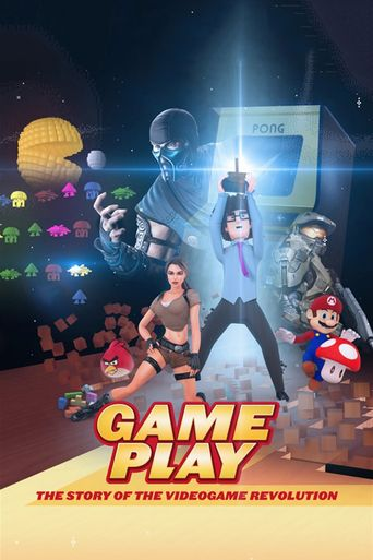 Gameplay: The Story of the Videogame Revolution Poster
